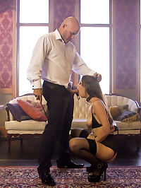 A Slaves Love : When a beautiful slave girl, Nora Riley, falls in love with her Master, Derrick Pierce, she learns that love and submission are not the same thing.Nora Riley is a sexy, submissive pain slut that loves to be punished and rough anal sex Derrick dominate Nora with a firm hand, striping her ass with a cane and fucking her as tearful whimpers come from behind the tight ball gag.