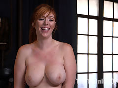 Slave Training Lauren Phillips Your Whore, Your Cunt, Your Bitch : Big tit juicy redhead Lauren Phillips learns a very important lesson from her slave trainer She is His Whore, His Cunt and His Bitch. Lauren endures tight bondage, gags, whips and a giant cock in her ass for a hard anal fucking in this slave training update!