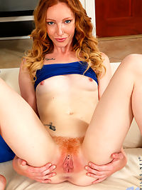 Nubiles.net Katy Kiss - Redhead hottie teases her pussy then licks the cum from her fingers : Redhead hottie teases her pussy then licks the cum from her fingers