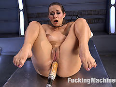 Mind Blowing Orgasms from Fucking Machines and Anal!! : Cassidy is such as cute and adorable model. She may look the part of the innocent girl, but dont let that fool you. She has a desire to be fucked and pleased that very few seem to be able to fulfill. We have the machines to satisfy her every need and desires, and wont stop the machines or her until they are. The last scene turns into a full throttle fuck fest as Cassidy just cant stop fucking herself