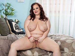 Horny Connection : Its sexy phone time for Jordynn LuXXX. Shes having a hot conversation with her daddy-man and getting worked up. She plays with her big fat tits while he tells her about the things he wants to do to her body. Hes out on the job and cant get over to her place to lay the pipe to her. br br After they hang up, Jordynn does the next breast thing and finds her thick toy so she can cum hard. She fantasizes that its his hard prick thrusting into her dripping wet pussy and that its his dick shes sucking on like a lollipop.br br XL Girls found Jordynn first, like a lot of other girls, and since then its been good times for Jordynn. She really loves the action and loves being on-camera. Hanging out with other curvy chubettes like Lucy Lenore and Kimmie Kaboom is a lot of fun for her. She enjoys their company...and more.
