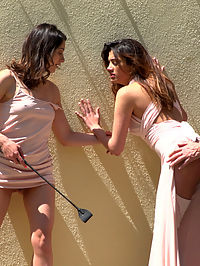Penelope and Valentina in a Greedy Group Fuck : Newbie Penelope Gets Suspended, Flogged and Fucked - Part 1Penelope Cum is a sweet, adorable beauty, new to the scene but ready to take it all in. Max Cortes brings Valentina Bianco to a location popular with climbers, to find Penelope bound and suspended, eager for them to use. They take her to a street with a grand view of Barcelona, where Penelopes made to suck dick and get fucked in plain view.Penelope and Valentina in a Greedy Group Fuck - Part 2Fresh from a hard fuck on the streets of Barcelona, Penelope Cum and Valentina Bianco are brought to a club to continue their public abasement. Theyre fucked and humiliated in front of a large group of patrons, as two other hot sluts join in on the fun. Valentina takes a hard fuck in the ass as three cocks and four girls pound it out. In the end, our newbie Penelope is fully fucked and covered in hot cum. Theres no wiping the huge smile off her face now!