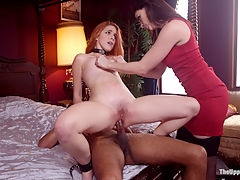 Evil Hot Step-Mother and Spoiled Brat Get Anal Punishment : Gorgeous little minx Amarna Miller is a spoiled brat daughter, returned to claim her Dads estate and play BDSM games with the butler. Shell take a hard spanking and tight clamps on her pink pussy so she can get the hard fucking she so richly deserves. But her fun is interrupted by evil and hot Chanel Preston, estranged wife with her eyes on owning both the house, the Butlers hard cock, and Amarna as her personal sex slave. Cruel Chanel delivers a hot scene of verbal humiliation, intense flogging, clamps, cattle prod torment, and fuck training - but only after she has had her own fill of dick. But like all matters of litigation, nothing is as it seems, and according to the legal team Chanel may well have her own gold digging ass fucked and punished with hot wax and caning before the day is done.