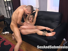 Blackmail Lust : When a beautiful but mischievous bank teller tries to short Xander Corvus on a deposit, she is drawn deeper and deeper into Xanders twisted web of blackmail, bondage and anal sex.