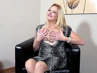Tit Chat : Since you already know all about Angel Sweets juicy and curvy body after seeing her video and pictorial, this short tit chat tells us what we suspected. Angel Sweets is a fun girl, very animated and friendly...someone you can share laughs, a few drinks and maybe get cozy with. Angel, who is from Manchester, England, tells us how she got here, what she likes to do in bed, her interest in BDSM and, naturally, she talks tits.