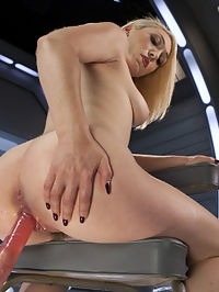 Hot Blond Lily LaBeau is Machine Fucked : Lily is one of our favorites around here with her cute smile and attitude. She has an amazing natural body that craves the attention that only a good fucking can satisfy. We intend on doing that, and we will use as many machines and different positions as it takes to satisfy her desires.