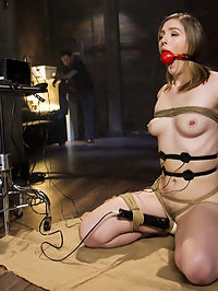Speech Training an Anal Slut Ella Nova : Ella Nova loves anal sex, but first she must learn her lessons. Tommy uses operant conditioning, electro stim and a vibrator to teach Ella to talk dirty. Ellas reward is a hard anal sex, bondage and rough treatment at the hands of her sadistic slave trainer.