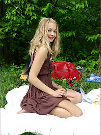 Lilya Picnic by the Pond