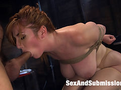 Anal Insanity : When sexy intern Lauren Phillips succumbs to the tormented cries of bound and sexually insane patient Ramon Nomar he escapes his bondage and goes crazy insane on her ass! This update includes huge tits, tight bondage, flogging, cunt fucking, deep orgasms and lots of anal sex. Watch Lauren with her big tits get fucked into Anal Insanity!