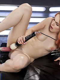 Spanish Red Head Machined Fucked Into Uncontrollable Orgasms!! : Amarna is cute as hell and we cant wait to fuck her with our machines. She seduces the camera like a pro and has all of us drooling all over ourselves. Once the fucking stats she defaults to her native language and starts begging and cumming in Spanish.