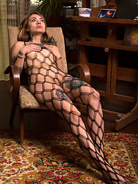 Fishnet : Fishnet featuring Marcella Lippy by Marlene