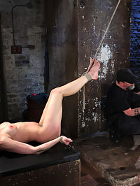 Casey and Dahlia Suffer Together in Brutal Bondage : Casey and Dahlia are both known for being tough girls who really love bondage and torment. For the first time ever, we have them both at the same time. The predicament bondage devastates them in the first scene, but the predicament in the second one almost breaks both of them if one shows weakness the other suffers more. The final scene The Pope uses their holes and bodies the way he wants. They are made to lick each others pussies while being tormented.