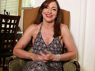 Introducing Natalie Moon, our new MILF : Now its time to get to know Natalie Moon, a 46-year-old divorcee and mom from Nevada she was born in Texas who came to our satellite studio in Los Angeles, California to get fucked on-camera for the first time. She got her ass fucked, too. She loves anal. She tells us that in this interview, which take place after her first video fuck.br br We can also tell you that Natalie...br br 1. Enjoys running, hiking, reading and swimming.br br 2. Likes golf and hockey and is a fan of the Baltimore Ravens football team.br br 3. Dresses in a casual, semi-conservative style. She doesnt dress to show off her tits or her ass, both of which are very nice.br br 4. Loves being touched and caressed.br br Anal is my favorite, she said.br br We love when a woman says that.br