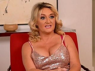 DayLynn Thomas tells all, and we mean all! : Now its time to get to know DayLynn Thomas, a 50-year-old, self-described hot slut wife whos fucking on-camera for the first time. This is one of the most-unusual interviews weve ever done because DayLynn is an unusual woman.br br For example, shes married, but shes owned by my Black Bull Master. br br She lives on the west coast of Florida she was born in Indiana and raised in Kentucky, and shes a very wild swinger, so wild that some of the other swinging wives started to resent her because she was being too much of a slut with their swinging husbands.br br DayLynn has blonde hair and big tits and a pussy made for fucking. At the end of this interview, she demonstrates her cock-sucking skills on a big, black cock. br br Im all about pleasure in this life, DayLynn said, and new things bring me pleasure.br br This is a new thing for her. It brought her pleasure. It will bring you pleasure, too.br br br br br