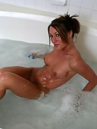 SpunkyAngels Busty babe Starri teases in her wet white sheer shirt and panties before getting completely naked in the bath tub : Busty babe Starri teases in her wet white sheer shirt and panties before getting completely naked in the bath tub
