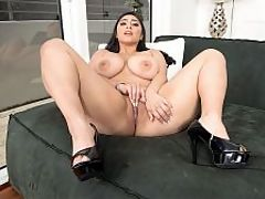 Heavenly Body Luna : College girl Luna Bunny goes home after class, gets comfortable, switches on her webcam and gets busy with her big tits and shaved pussy while the guys watching her get busy too. Before cams became commonplace, Luna might have become a house dancer in a strip club, dressed in a coed outfit and giving guys lap dances. br br When Luna decided to try pro modeling and hardcore, she came to iSCORELANDi. In her first hardcore, Luna showed how good she is at fucking and giving blow jobs. The doe-eyed brunette is both a good bad girl and a bad good girl wrapped up in one pretty package.br br Some have compared Luna to the great British star Kerry Marie at the beginning of her career in the late 1990s. Luna is 22 in this scene and photos of Kerry at the same age show some similarities. Others have said they see a facial resemblance to another Brit whos well-known here, Michelle Bond. Resemblance or not, Luna is a young beauty with a shapely body and great, big tits--a girl made for the camera.
