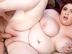 Ready To Play : Im on this sexual adventure, says redheaded cutie Trinety G. And I want to get fucked really hard and deep by a big cock. And I want you to watch.br br And to think that it took two years after her very first appearance at XL Girls for Trinety to make the jump to sex on-camera with X-Men. Proof again that good things often happen to those who patiently wait.br br Its JMacs turn with Trinety. He loves big tits and spank-worthy butts. He absolutely relishes plowing girls with big tits. Theres little time for small talk or plot devices. Trinety wants his jumbo frank in her mouth right away to suck hard and lick with her pierced tongue. The squishing sounds of lips going up and down on cock fill the room.br br Juicy Trinety pulls out her huge hooters, gets on the bed with JMac and blows him some more, kneeling over him and spitting on his cock. Her mouth play makes it rock hard. Now its time to fuck those 38H-cups!br br Trinety gets on her back and holds her big jugs together to form a tight ta-ta tunnel that JMac can drive his skin bus through. Tit-fucking is one of a breast-mans favorite activities and Trinety gets into it too. She flicks her tickling tongue at the tip of his boner as it moves through her soft, smooth skin warmed by cock friction.br br In one deft move, JMac slides his cock into Trinetys pussy in missionary position and, wrapping his arms around her and holding her tight, leans back all the way so that Trinety is pulled on top of him. His cock never leaves her pussy. Trinety giggles, all atwitter or should it be atitter as he does this maneuver.br br Trinety wanted sexual adventure, new moves and hard, hard fucking. Shes cum to the right place!