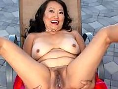Thai pussy : Mandy Thai, a 70-year-old wife and granny, continues her big week at i60PlusMILFs.comi with a hot solo video. Shes by the pool on a sunny day in Los Angeles, California, and shes wearing a bikini. How many 70-year-olds do you know who are daring enough to wear a skimpy bikini? Not many, right? On top of that, shes got on high heels.br br Turns out Mandy doesnt just look hot. She is hot. She tells us so. She asks you if youd like to put lotion on her body. Damn right! So Mandy takes us to a more-secluded spot. She squirts the white stuff out of the bottle and lets her hands roam over her body. She rubs the cream into her tits, which are now out of her bikini top. She has nice tan lines and hard nipples. Before long, shes untying her bikini bottom and vigorously rubbing her pussy. Then she shoves two fingers inside her pink fuck box, and we can hear how wet she is.br br By the way, Mandy has an old-fashioned pussy It has hair on it. Its a very nice pussy. Very pink with thick pussy lips. It gapes when she pulls out her fingers. This is prime old pussy, well-fucked and ready for more.br br More, we said? Yes, more. Tomorrow and Thursday, Mandy gets fucked by a hung porn stud.br br But today, its just you and her.br br I love high heels and skimpy clothes, Mandy told us. I want to have two men at once. Maybe three.br br Mandy has been a nudist for over 45 years, but she isnt a swinger.br br I thought about it and came close, but Im still a virgin in that respect.br br Hey, a woman has to have her limits. We wonder if well discover Mandys.br br