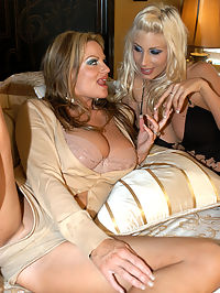 Kelly Madison and Puma Swede3 : Puma Swede drops by Kelly Madisons house where she needed to feed the hunger in her pussy with a set of big natural tits and a big cock.