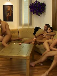 Orgy Games : Horny beautiful young people are having a big hot orgy