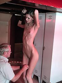 Skinny Hooker : Naughty skinny hooker is hired by a tourist for hot sex
