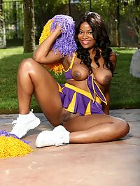 20 Pictures Softcore - Chocolate Cheerleader 5 - Monique Symone