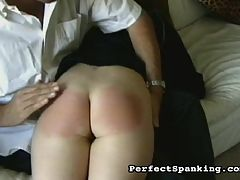 Bare hand slapping : This young disciplinarian in training is taking the young girls at her school to task. A pair of scenes featuring traditional British schoolgirl caning, paddling and spanking.