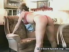 Kinky MILF : Mrs Walker is a horny housewife who keeps calling the repairman over to get some action. Exasperated with her pranks, the repairman teaches her a lesson and bends her over and gives her big round ass a sharp spanking. She hasnt felt so horny in years, and promises him shell call more often.