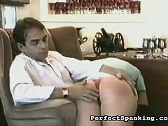 Horny Fetish Mom : Mrs Walker is a horny housewife who keeps calling the repairman over to get some action. Exasperated with her pranks, the repairman teaches her a lesson and bends her over and gives her big round ass a sharp spanking. She hasnt felt so horny in years, and promises him shell call more often.