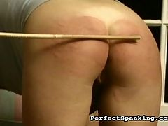 Spanking Punishment : Two blonde babes find themselves in trouble with the headmistress, and they are spanked, paddled and caned until they are bruised and throbbing with pain.