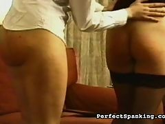 Enjoy the Spanking : Scandinavian babes are turned over to their chaperone after breaking curfew, and are taught a lesson with paddles and cruel canings. As real as it gets for these unfortunate babes.