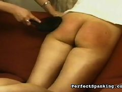 Sexy Spanking : Scandinavian babes are turned over to their chaperone after breaking curfew, and are taught a lesson with paddles and cruel canings. As real as it gets for these unfortunate babes.