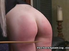Bruising Beating : Troubled Housewife sees her new doctor, but his treatment is unorthodox to say the least. His cure? Slaps to the ass and cane lashing across the buttocks and thighs until bruising occurs, then finish with a warm soothing enema.
