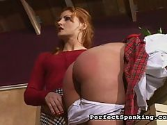 Zesty Ass Spank : Mistress Gemini savors punishing a pair of nasty tarts. Check out the slap action ATK and the stinging paddles and lashing canes. Their asses will be marked and bruised for weeks!