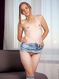 Nubiles.net - Jean Skirt added to Nubiles.net : Nubiles - Jean Skirt featuring Nastyhka. Added On Jan 21, 2020 Description Looking fine in a jean miniskirt, Nastyhka slips her sheer shirt down to display that shes not wearing a bra. Her nipples are already nice and hard as she pinches them, and once her panties come off its easy to see that her twat is wet and ready for a pussy party.