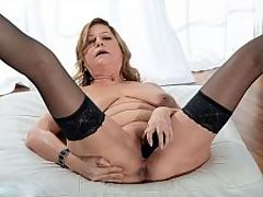 Introducing Brenda Douglas, our new 60Plus MILF : I am 67, said Brenda Douglas, a divorcee who, today, is getting nude on-camera for the first time in her life. Shes never been a stripper. Shes not a nudist. Shes not a webcam model. Shes a businesswoman from California .br br And now shes doing this. Thursday, shes going to fuck on-camera for the first time. Its always a big event when we introduce a new 60Plus MILFs. Were excited about it.br br Im very excited about it, Brenda said.br br It happened rather quickly. Im rather sexual. I play a lot at home with my sex buddies, and someone mentioned your website. I had no idea there even was such a thing. I went to the site, clicked on Be A Model, and that was just a couple of weeks ago. Its a dream come true for me.br br She is making our dreams come true by using a big, black toy to show us how she likes to satisfy herself.br br Brenda was born in Oregon. She has brown hair with blond highlights. Her eyes are hazel. Shes 57, 148 pounds with big, beautiful, natural tits that youre going to want to suck on.br br Her hobbies Sex! Lots and lots of sex!br br Her opinion about panties I wear them about half the time. When I do wear panties, It is usually a metallic or lacy G-string or some soft and lacy bit of nothing. No panties at all feels really great!br br We asked her if the people she knows would be surprised to see her here.br br Those who I have encountered over my life and I have chosen to leave behind would probably be very, very surprised, she said. I now only include people in my circle who accept me for all that I am and who add quality to my life. It is a very liberating and peaceful way of life.br br Welcome to our way of life, Brenda!