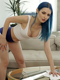 StepSiblingsCaught.com - My Step Sisters Masturbate Together - S13E3 added to StepSiblingsCaught.com : Step Siblings Caught - My Step Sisters Masturbate Together - S13E3 featuring Jewelz Blu and Vanna Bardot. Added On Apr 23, 2020 Description Brad Sterling is hanging out with his stepsister, Vanna Bardot, and their adopted sister, Jewelz Blu. The girls cant keep their hands off their titties and their twats. The girls share a room, so they have a codeword to say if they want to be alone to masturbate. Since they said it at the same time, they eventually decide to share the room. They dont want Brad to get suspicious, so they return to the living room together and offer to do Brads chores so he can leave and go hang out with his friends. When Brad leaves to go get ready, the girls talk about how dumb he is for believing that theyll do all the work for him. In return, he pretends to leave and then waits to see what the girls are really up to.As soon as the girls think Brad is gone, they abandon their chores and relocate to the bedroom. Laying side by side in the bed, each girl slides her hands into her shorts. Eventually, they agree that theres no reason to keep their clothes on so they ditch the shorts and pull their shirts up for easy access to all their fun bits. Brad waits for the opportune moment to walk in on them and confront them about the chores theyre supposed to be doing. When Brad claims hes gonna tell mom and dad, the girls agree to let him stay and watch. Jewelz is pretty into it, even if Vanna isnt. She doesnt say anything when Brad whips out his man meat and starts stroking himself off alongside them. Reaching out, Jewelz starts stroking Brad with her hand while making increasingly blatant moves to suggest that she wants way more than what shes getting.Eventually Jewelz gets on her hands and knees while Vanna protests that this is wrong. Brad doesnt say no to the opportunity to fuck his adopted sis. As Vanna watches, her feeling of scandal eventually f